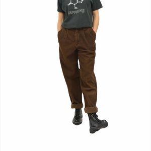 Prada Brown Corduroy Pants Size 31
